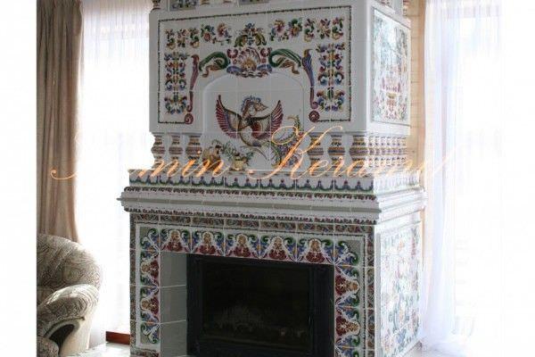Камин в Русском стиле
