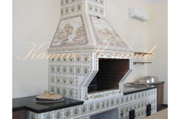 Печь-мангал