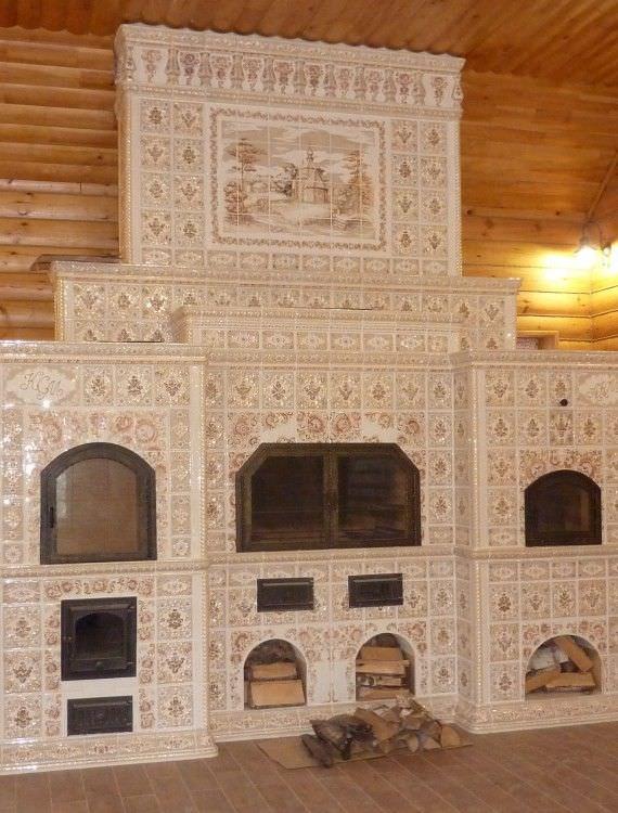 камины дровяные фото