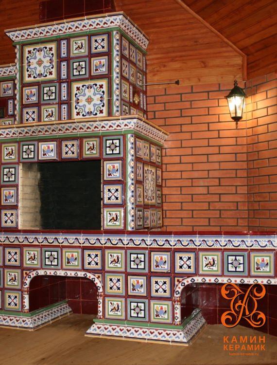печь камин дома дровах цена