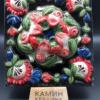 изразцы астра пионы цветы