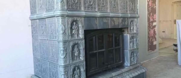 Изразцовый камин