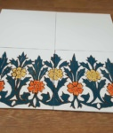керамогранит с ручной росписью для цоколя