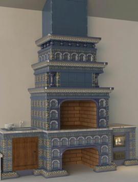 мангальный комплекс Реставрация с арками