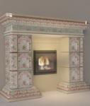 камин изразцовыйцена 124000