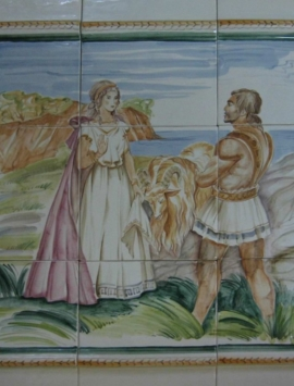 панно мужчина и женщина