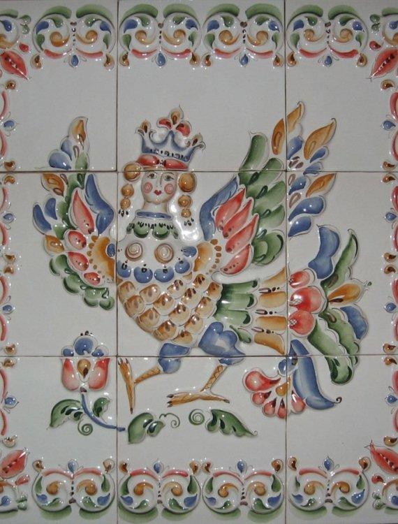 панно плитки кухонного фартука