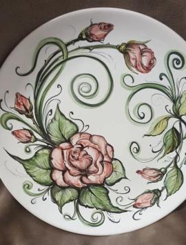 Подарочная тарелка