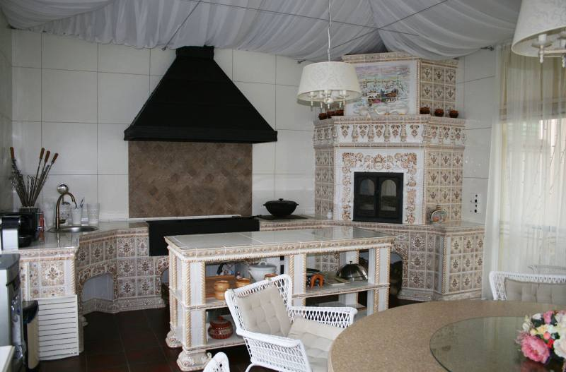 летняя кухня фото проекты