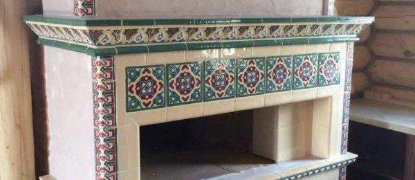 Печь в восточном стиле