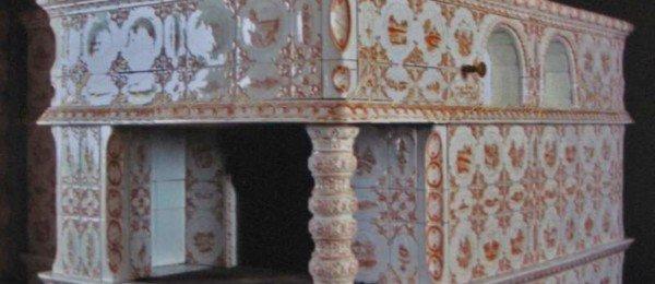 Печь с лежанкой и варочной плитой