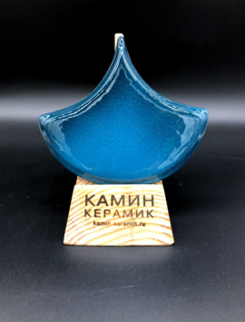 плитка чешуя синяя