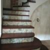 плитка лестница пример дизайна
