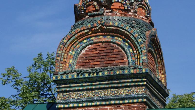 ярославские изразцы на крыше