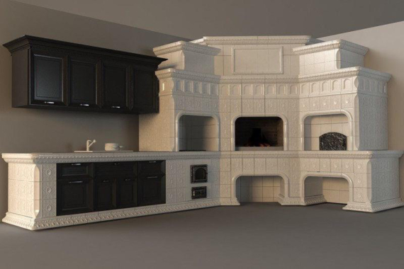 мангальный комплекс дом