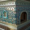 печь с изразцами в стиле древней руси