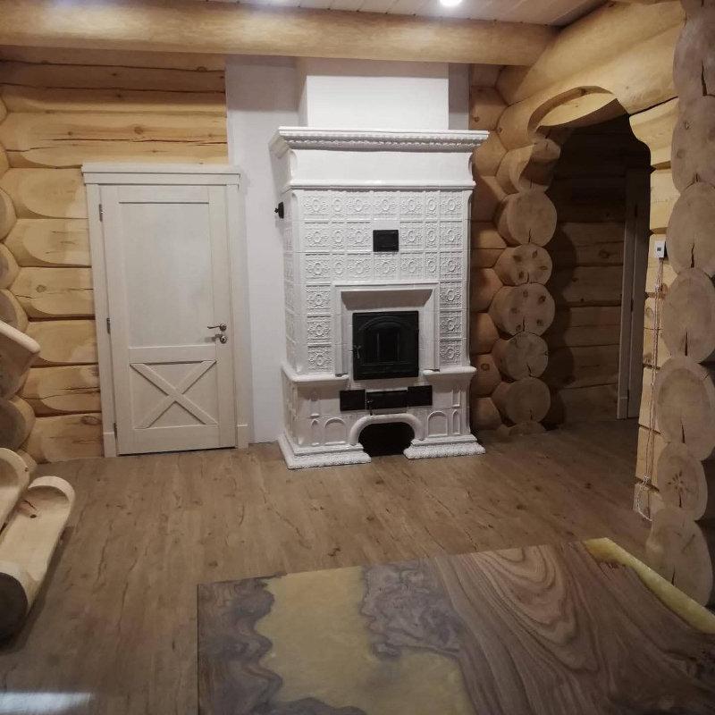 печь реставрация в деревянном доме